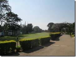1st hole, Poona Golf Club
