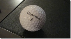 Hole-in-one ball