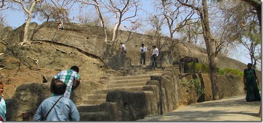 Ajanta stairs