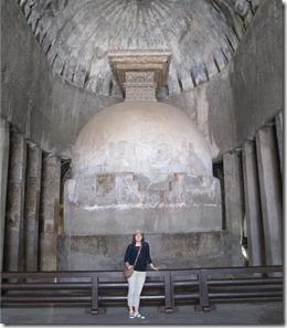 Ajanta cave 10 stupa