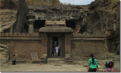 Ellora cave 32 outside