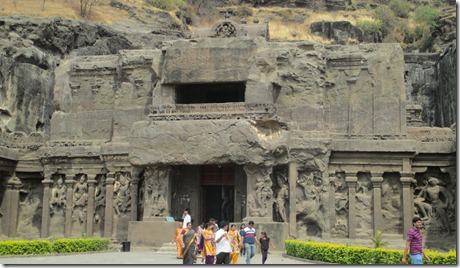 Ellora cave 16 entrance