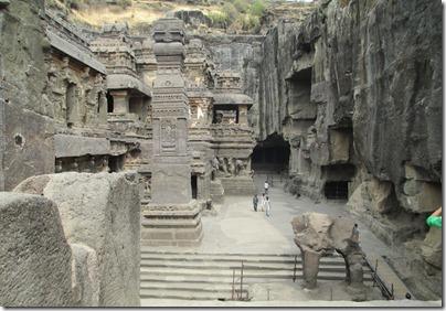 Ellora cave 16 inner court