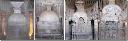 Ajanta stupas