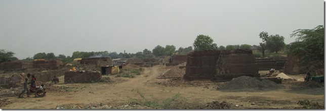Brickworks in India