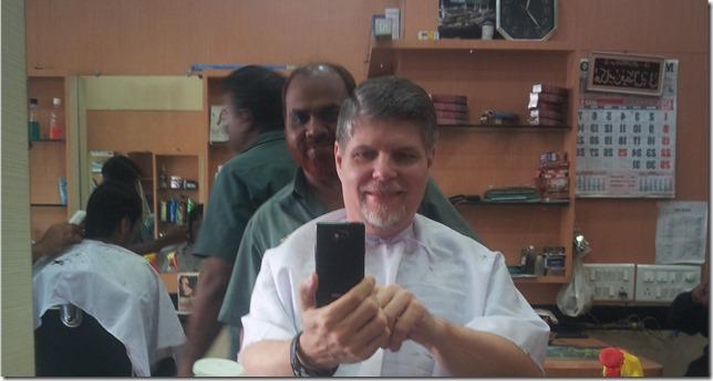 Fernando's haircut