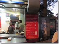 Kapila Kathi Kebab menu