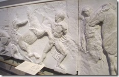 Relief sculpture from the Parthenon