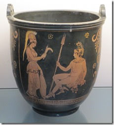 Sutila showing Athena and Perseus