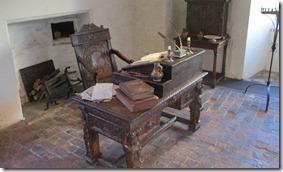 Raleigh's desk