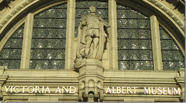 Albert at the V&A
