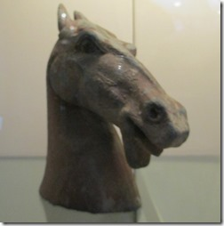 Earthenware horse