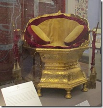 The throne of Ranjit Singh