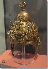 Nepalese ritual helmet