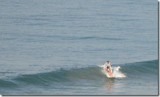 Surfer at Papanasam