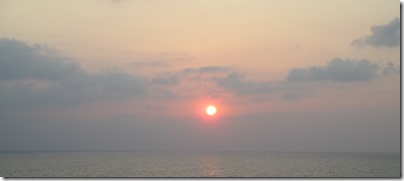 Sunset from Varkala